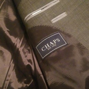 Chaps 2 piece suit- basically brand new!